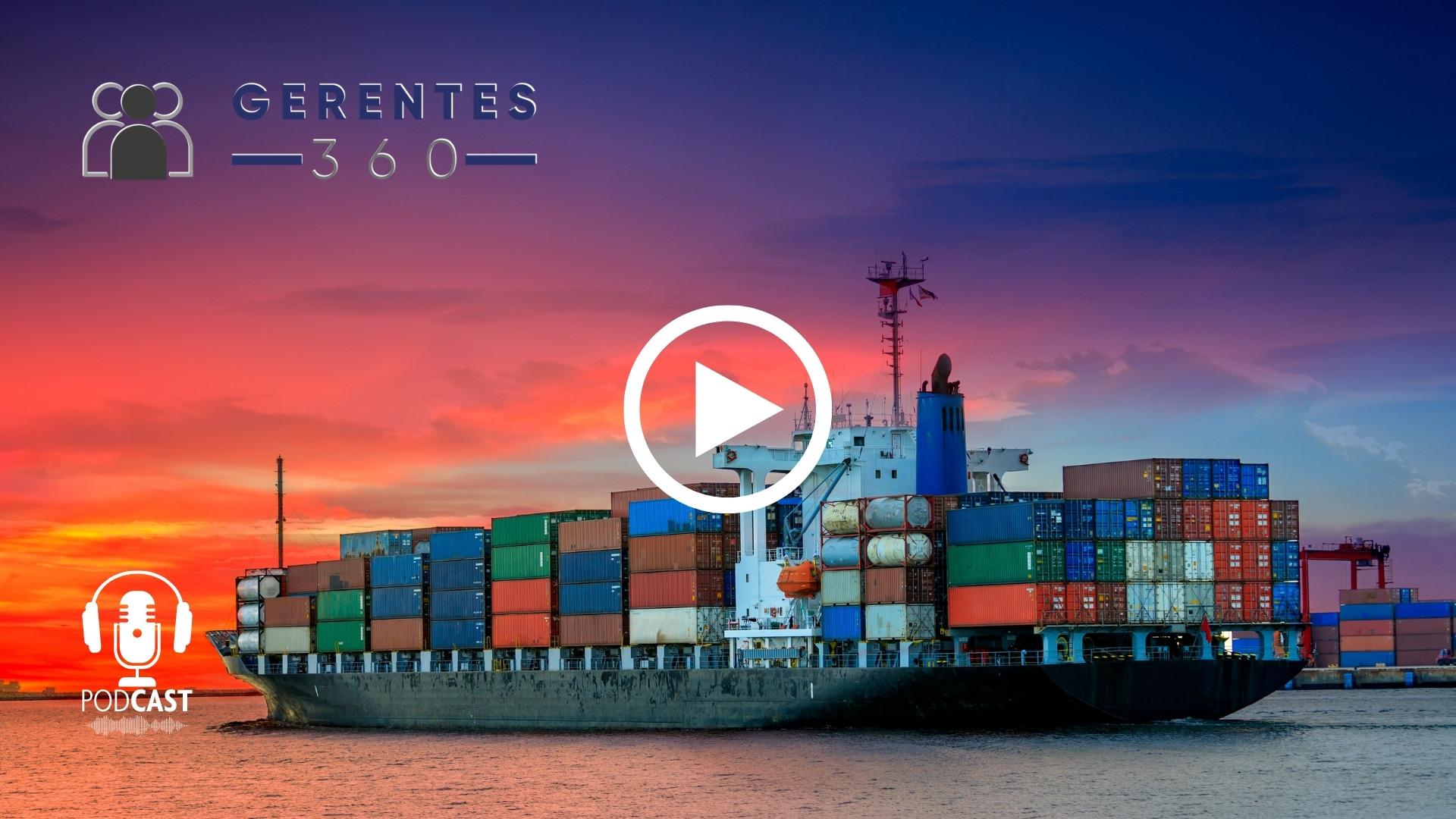 La Unión Europea impone multa récord a Amazon y Argentina experimenta problemas en el comercio marítimo